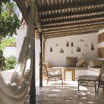 Une terrasses en méditerranée
