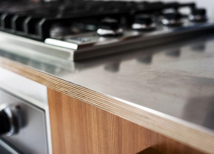 Le plan de travail de la cuisine, l'atout déco || Le choix d'un plan de travail en inox