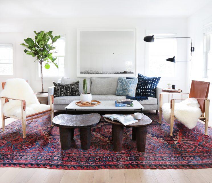 Tendance déco, le grand retour du tapis persan | Amber interior design
