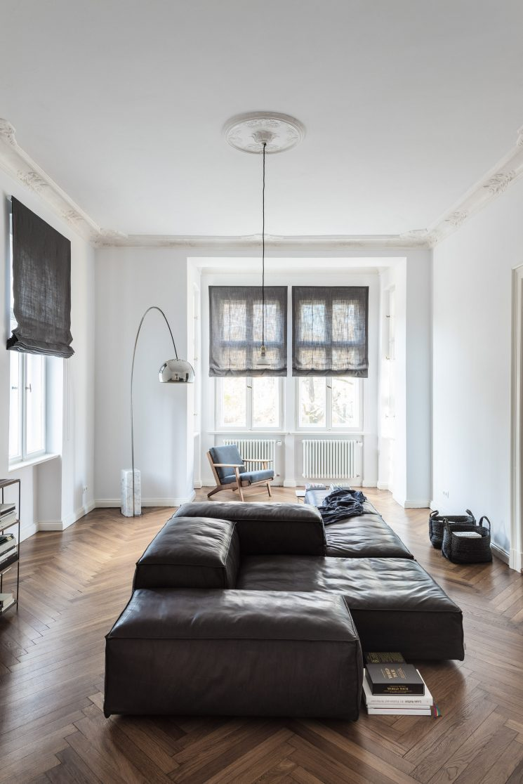 Un appartement ancien rénové par Annabell Kutucu en collaboration avec Michael Schickinger