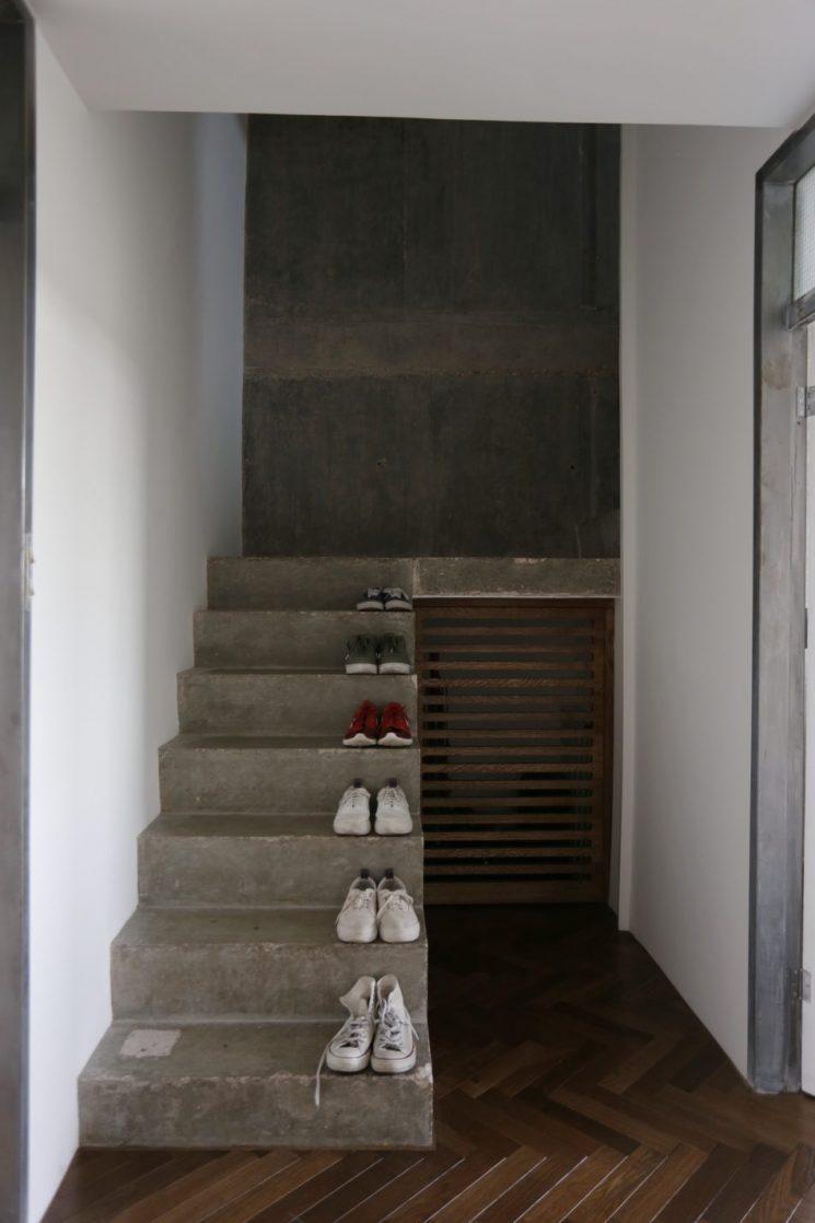 Sous l'influence du brutalisme   Appartment dans la Trellick Tower à Londres