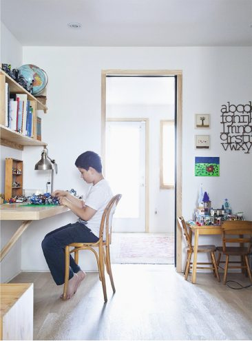 Bookhou, slow life, slow design à Toronto : une maison de vie simple et belle