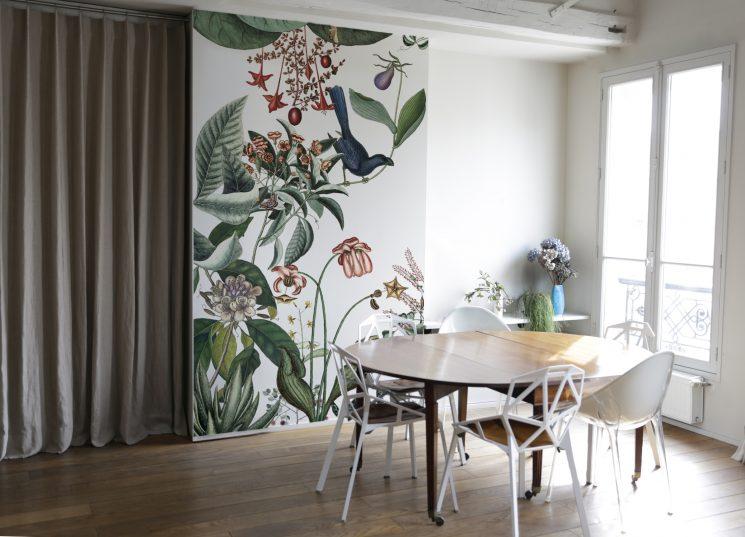 Nouveau papier-peint panoramique, signé Cécile Figuette - Bien Fait Paris
