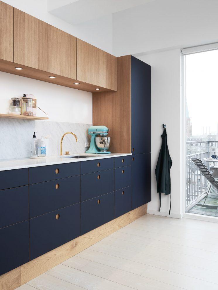 Reform Ou Comment Relooker Une Cuisine Ikea   Cuisine Basis Couleur Bleu  Navy