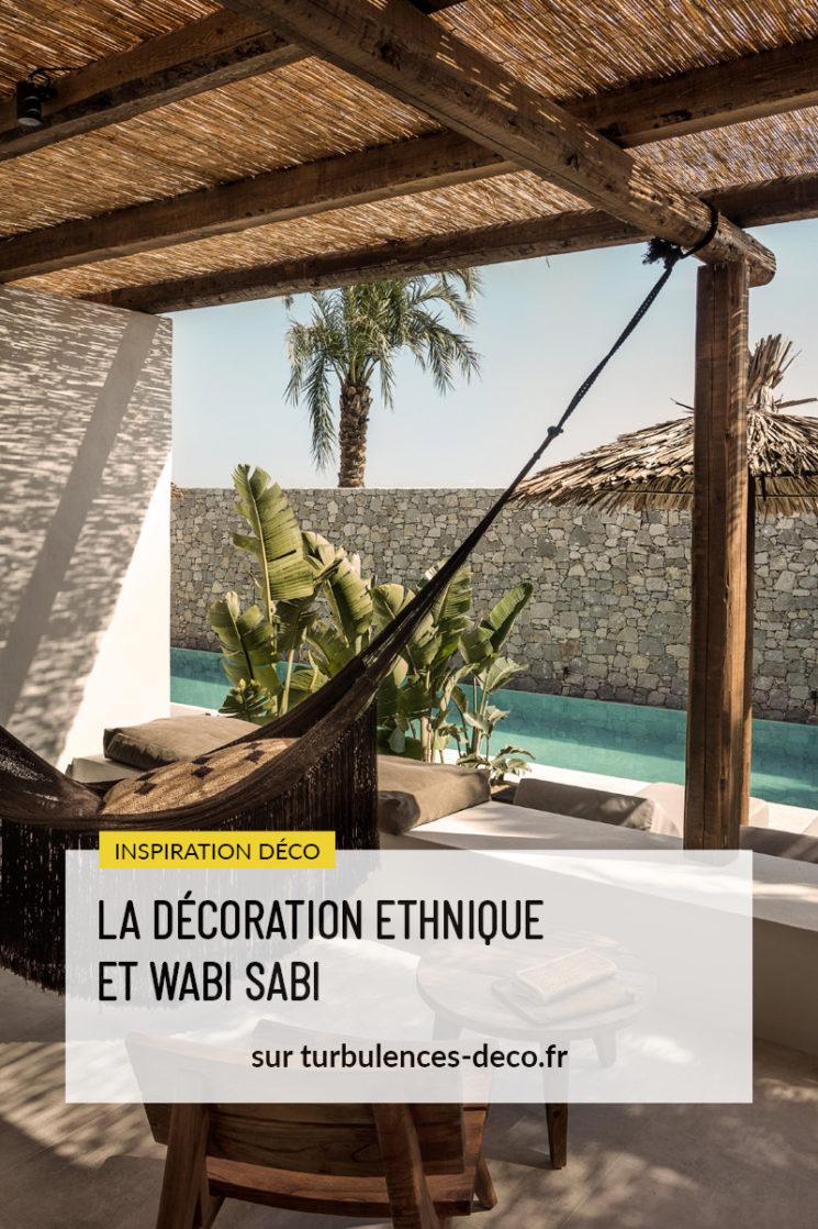 [ Inspiration déco ] La décoration ethnique et wabi sabi à retrouver sur Turbulences Déco