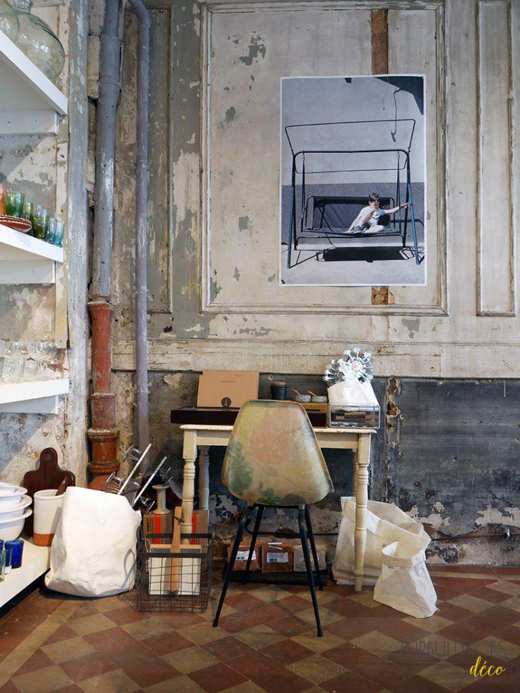 Ailleurs, une boutique au décor patiné - Paris 12 || Turbulences Déco