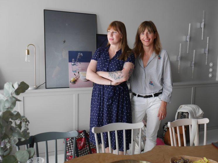 La cerise sur le gâteau fête ses 10 ans | Portrait de Lisalou du blog Mamie boude et Anne Hubert, fondatrice de la marque
