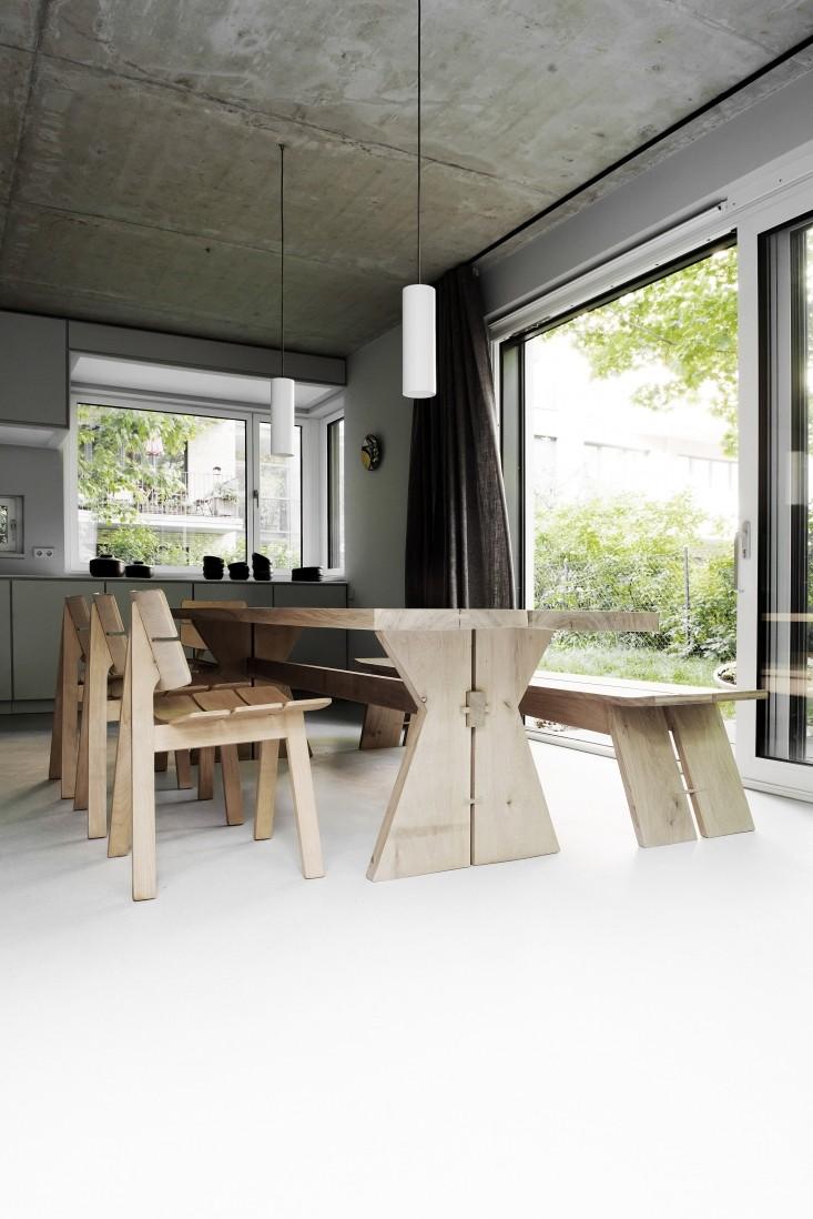 Design et béton, versus minimaliste | Une maison Bąk-HOUSE à Berlin par Loft Kolasinski