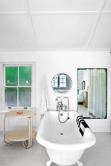 Tendance vert d'eau || La maison de Laureen Rossouw au Cap, Afrique du Sud