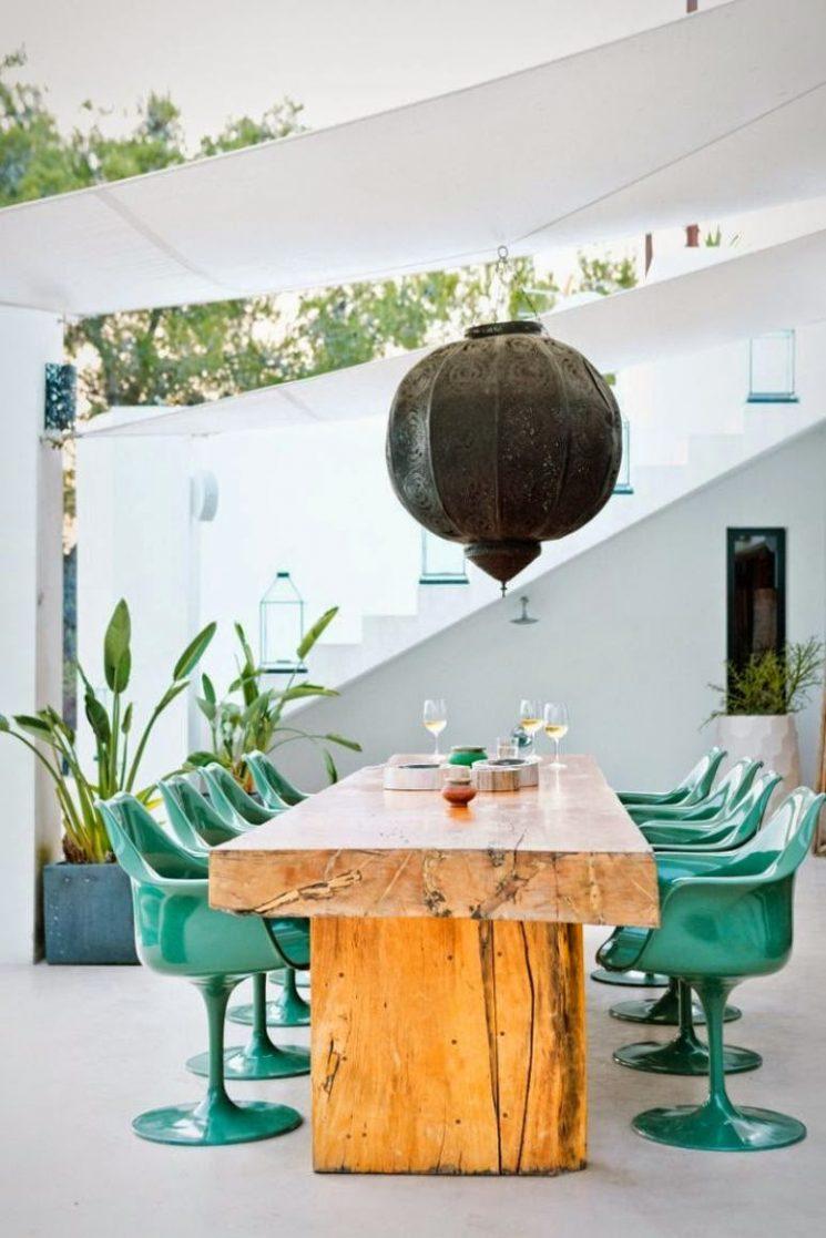 Tendance vert d'eau || Maison Ibiza