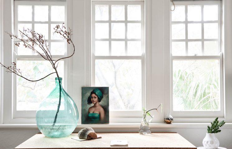 Tendance vert d'eau || L'appartement de Lynda Gardener