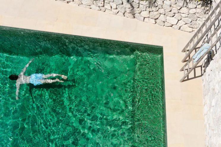 Le vert d'eau en déco : Plongez dans le grand bain || La casa Thun à Capri