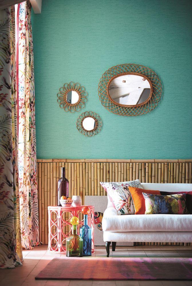 Tendance vert d'eau || Catalogue Harlequin wallpaper