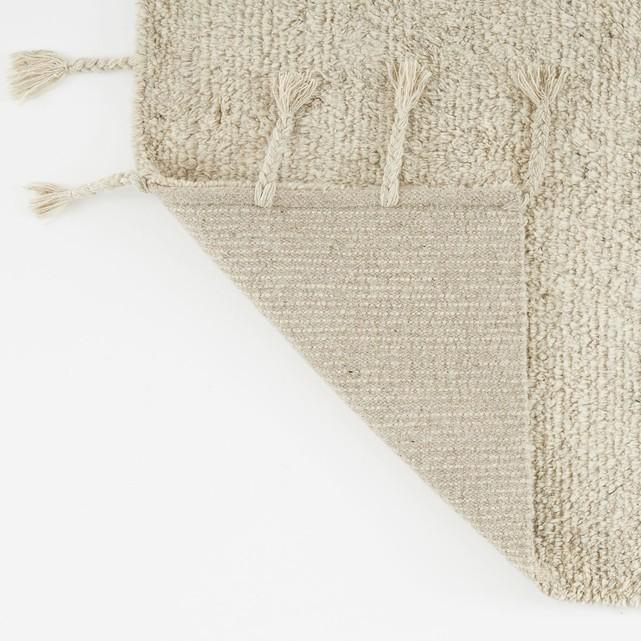 Tapis style berbère en laine, Néroli sur Ampm