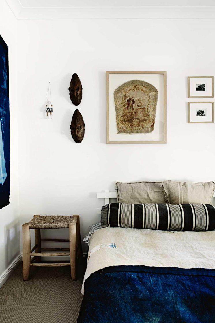 Rayures d'été, rayures ethniques    Maison Alison Fraser Australie