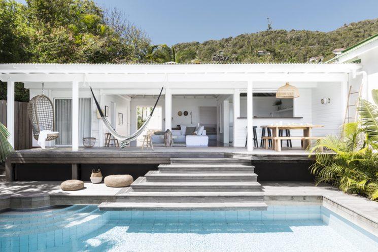Villa Palmier à Saint Barth, exotisme et simplicité