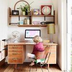 Bureaux d'école vintage… pour les petits et les grands aussi