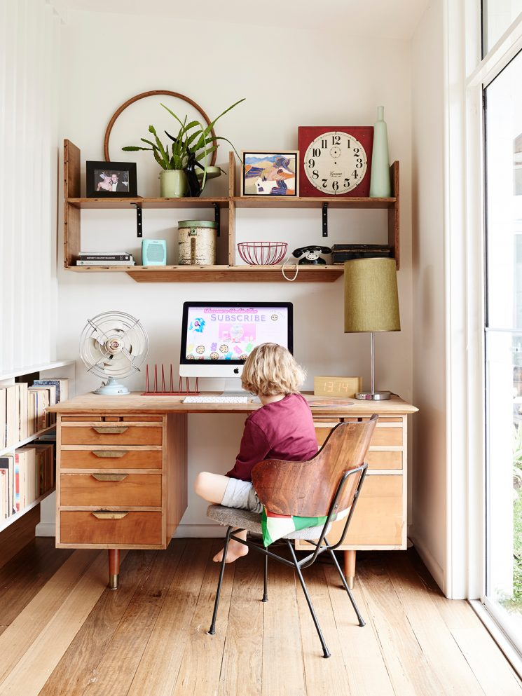 Vintage school offices ... for young and old alike