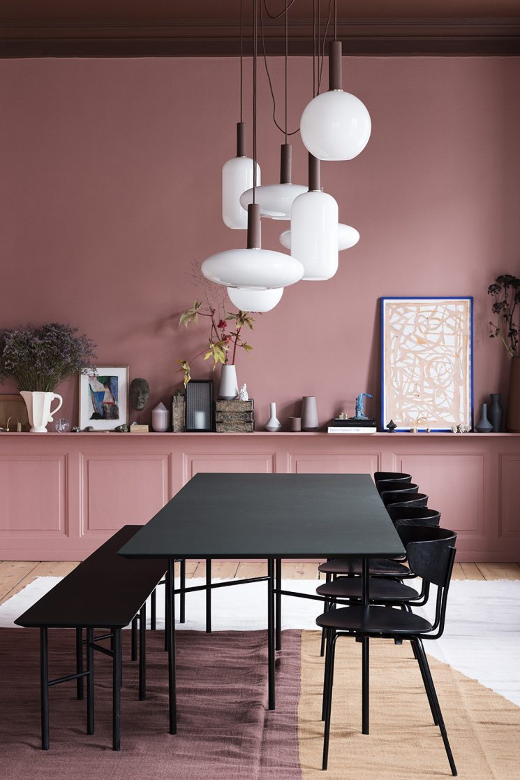 Terracotta et autres bruns, les couleurs de cette saison || L'appartement Ferm Living The Home