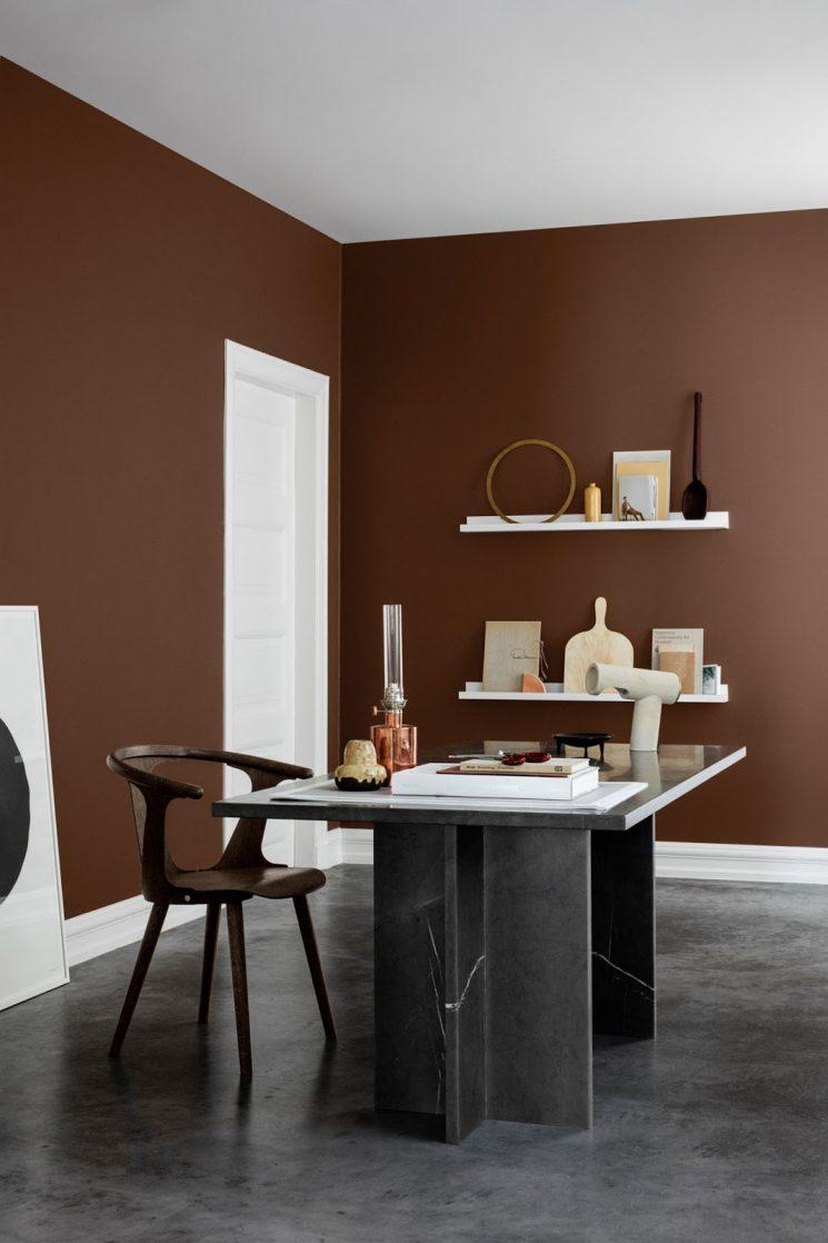 Terracotta et autres bruns, les couleurs de cette saison || Gamme de couleurs Rhythm of life par Jotuns 2018