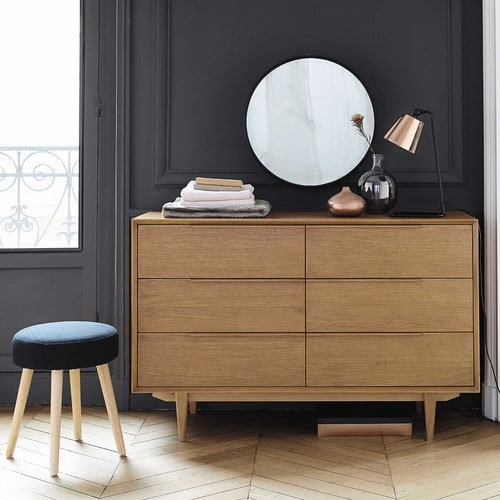 Une chambre hygge for Maison du monde commode