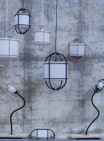 assemblage-m par François Murraciole et son équipe, collection de luminaires