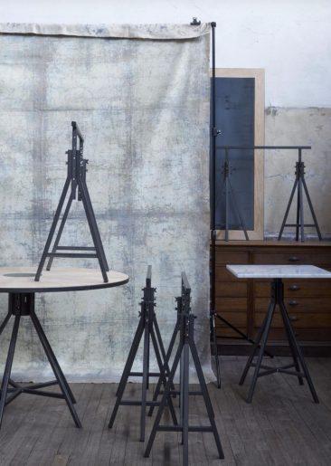 assemblage-m par François Murraciole et son équipe, collection tréteaux et tables