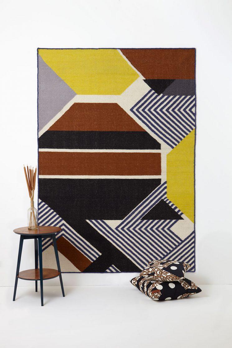 Terracotta et autres bruns, les couleurs de cette saison || Tapis Harmonie - Ma Poésie