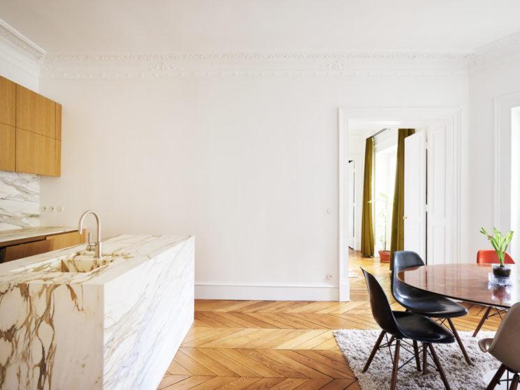 Trouver un architecte avec Archidvisor || Rénovation d'un appartement à Paris par l'agence Septembre