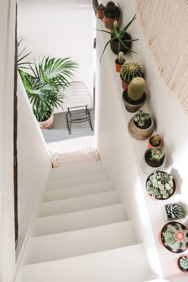 Intérieurs hygge peuplés de plantes - L'intérieur de Manon Valesca Maria deThe Life Traveller à Amsterdam
