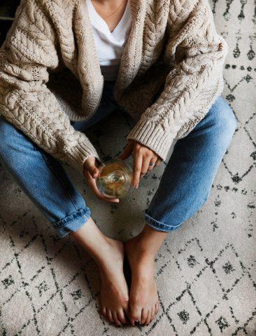 [ Inspiration déco ] La déco neutre et nature || L'intérieur de Jillian Guyette et Robert du blog lifestyle abetterhappierstsebastian.com