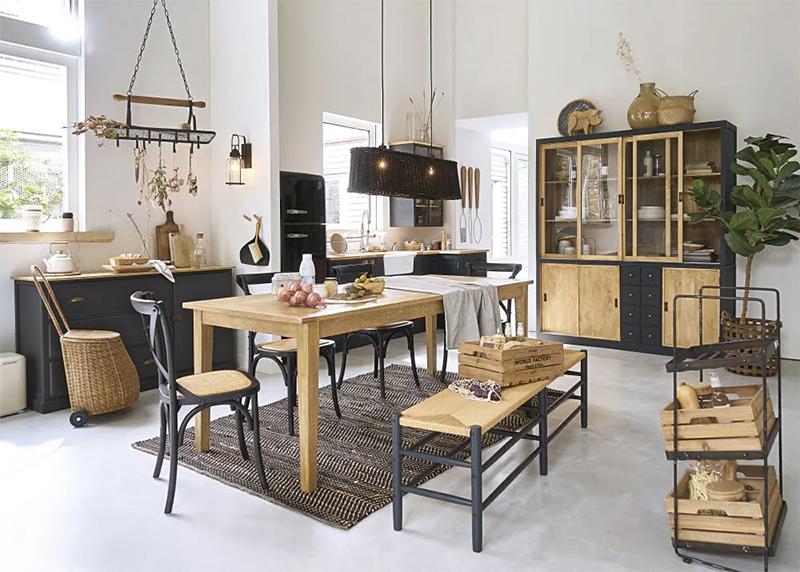 [ L'art de mixer le mobilier actuel sans faire catalogue ] Ce qu'il ne faudrait pas faire, un décor parfait de style campagne rustique par Maisons du Monde
