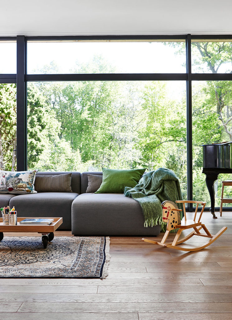 [ L'art de mixer le mobilier actuel sans faire catalogue ] En ajoutant des objets personnels, des objets chinés