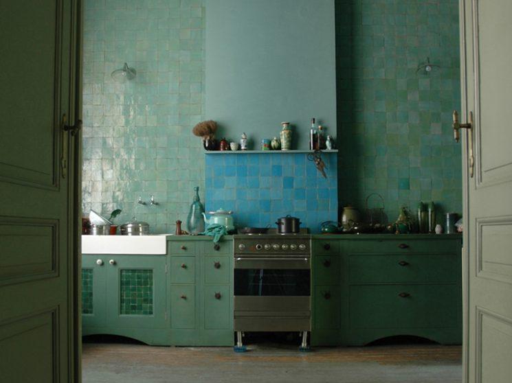 La magie des zelliges en décoration intérieure - Turbulences ...