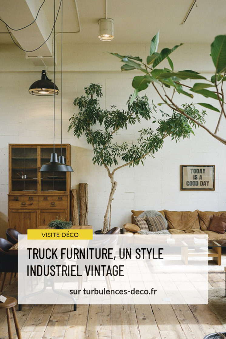 Truck furniture, un style industriel vintage à retrouver sur Turbulences Déco