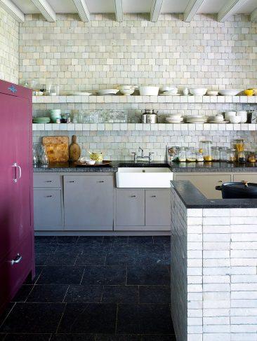 La magie des zelliges || La cuisine de cette vieille ferme aux Pays Bas se couvrent de zelliges