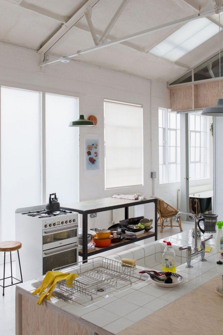 Un ancien entrepôt rénové à Londres par l'agence Dyvik Kahlen Architects