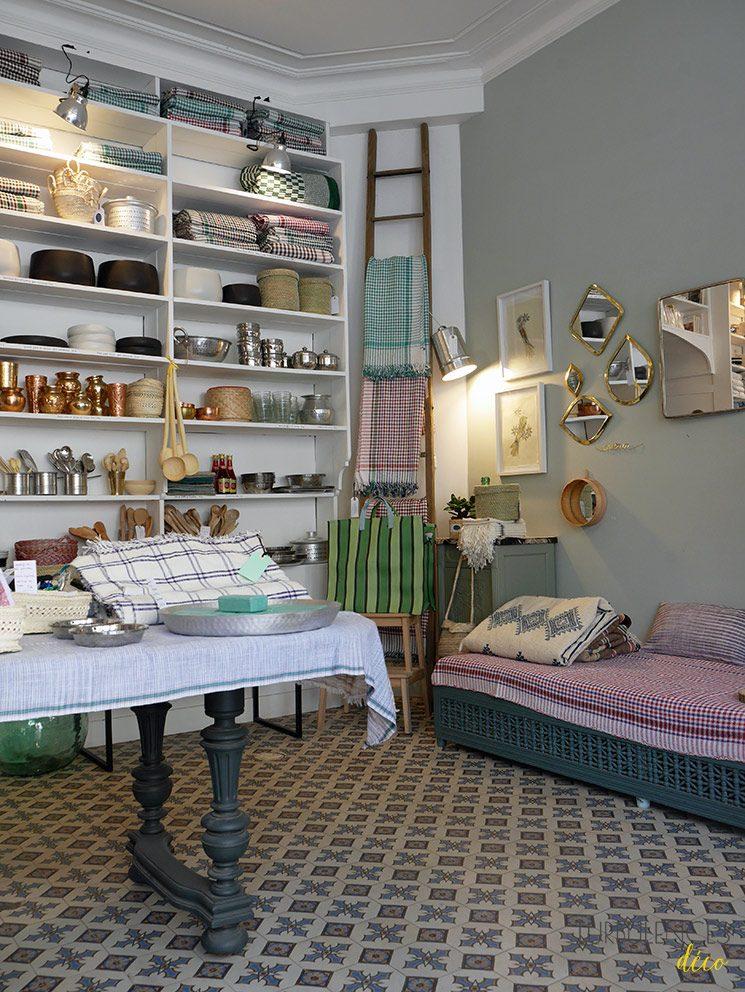 Rivières, boutique ethnique de décoration et art de vivre - 14e arrondissement Paris
