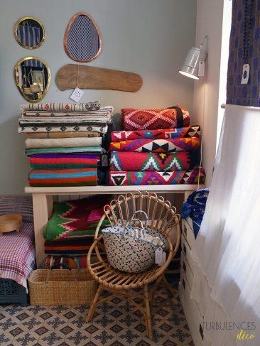 Rivières, boutique de décoration et art de vivre ethnique - 14e arrondissement Paris