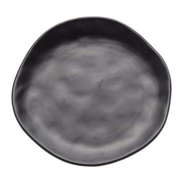 Assiettes noires, Organic Kare Design