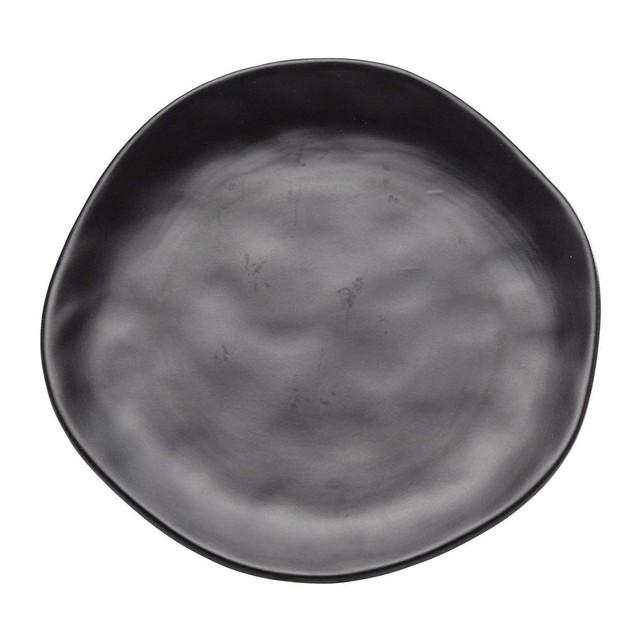 Assiette noire, Organic - Kare Design