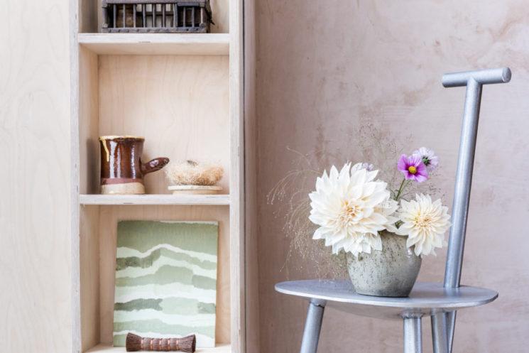 Bouquet d'hiver : fleurs séchées et branches nues || Yasuyo Harvey home