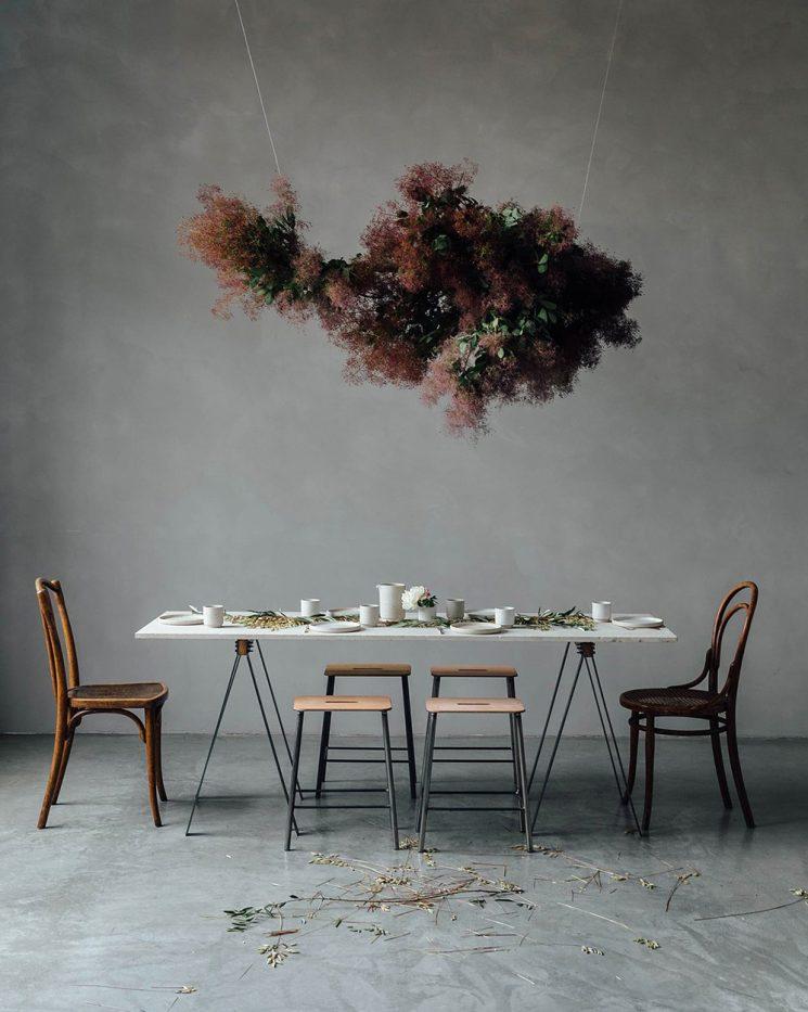 Bouquet d'hiver : fleurs séchées et branches nues || Ruby Mary LennoxpourOur Food Storie