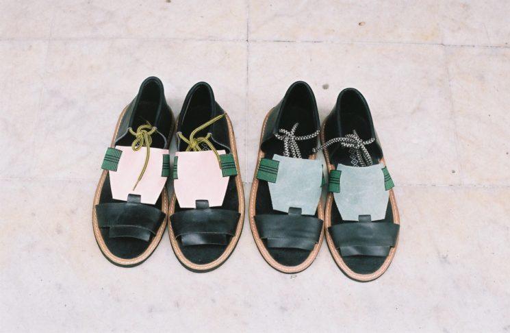 LRNCE design made in Maroc - Ligne de sandales en cuir