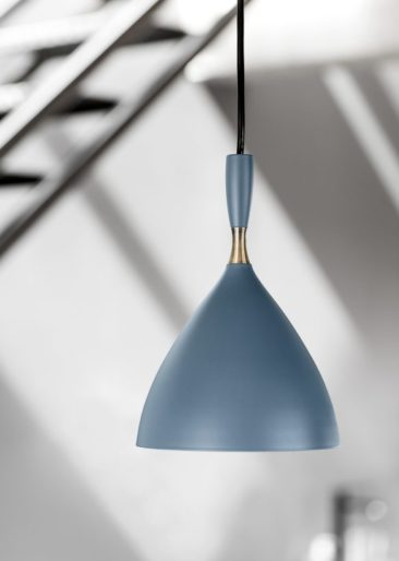 Northern - Suspension DOKKA, bleu pétrole mat - Designer : Birger Dahl