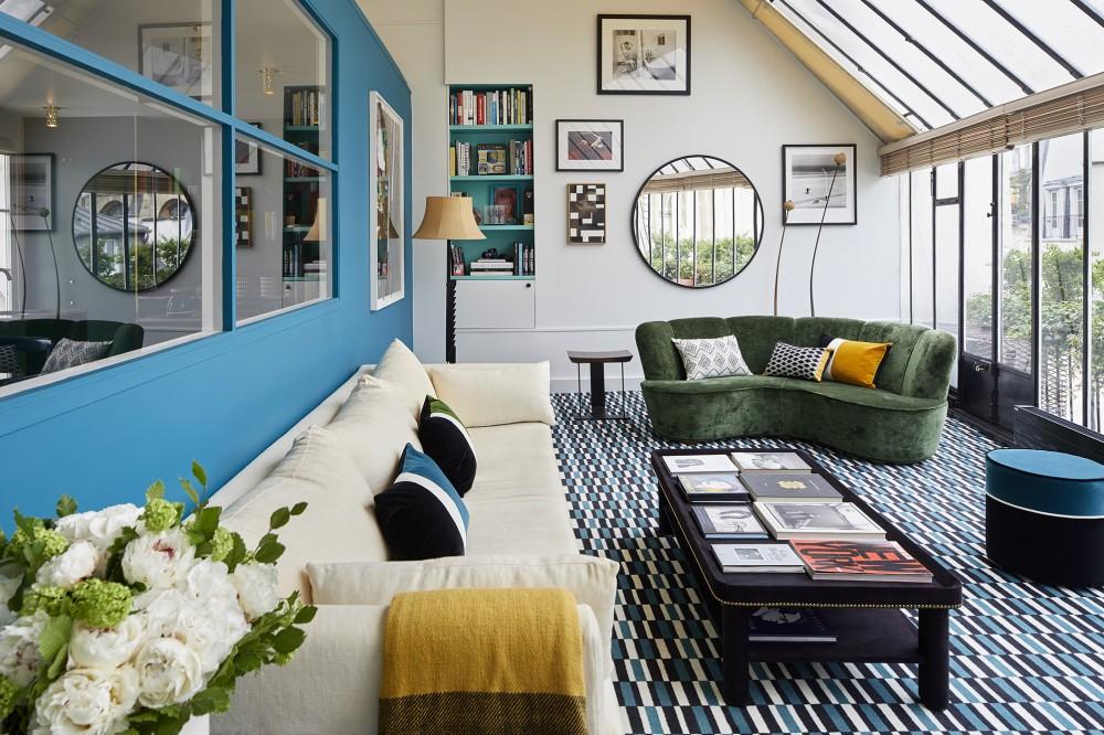 le nouvel int rieur de sarah lavoine turbulences d co. Black Bedroom Furniture Sets. Home Design Ideas