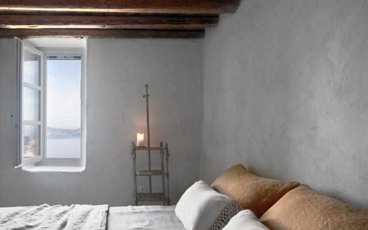 Une villa d'été à Milos par K studio