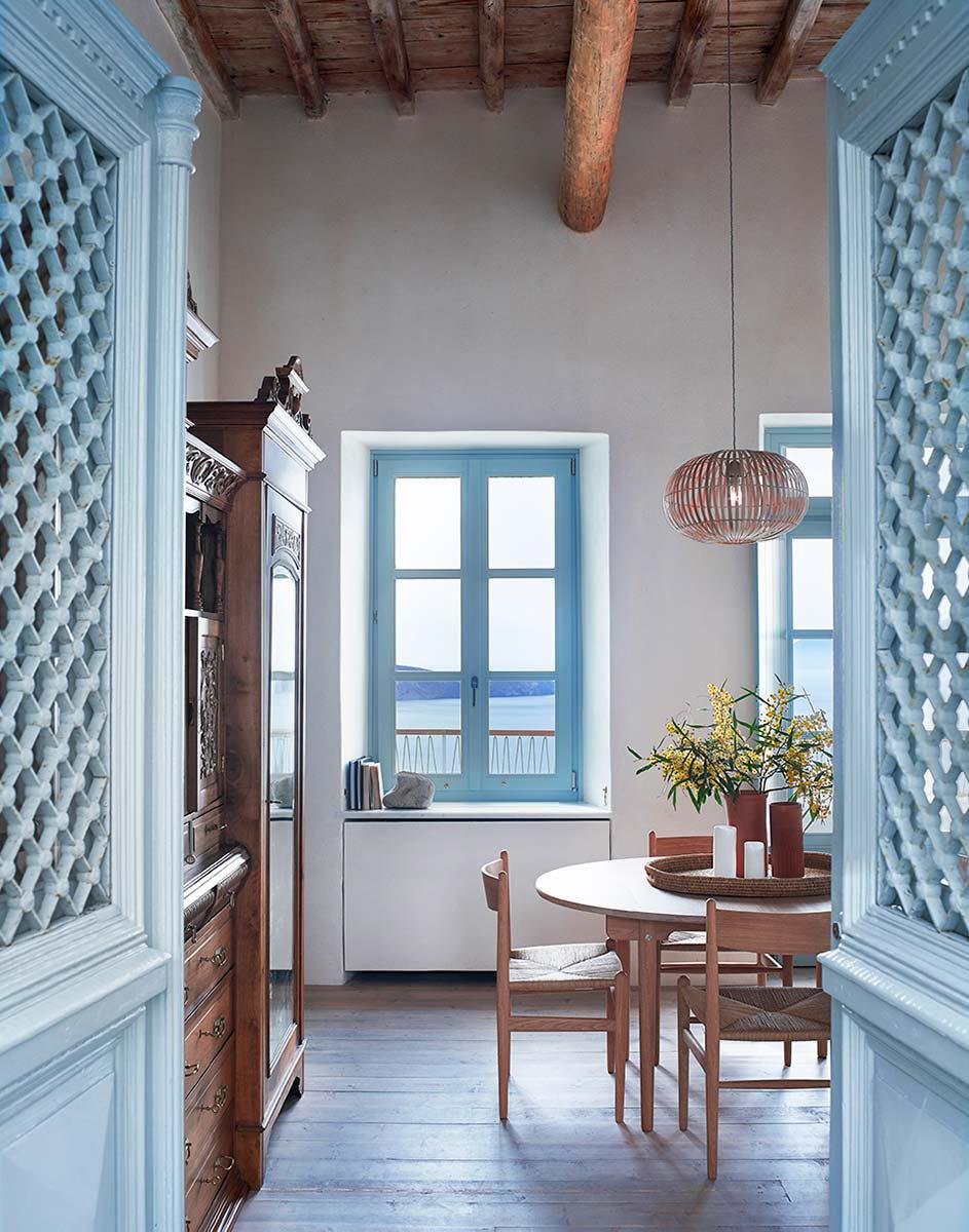 Une villa d\'été grecque à Milos par K studio