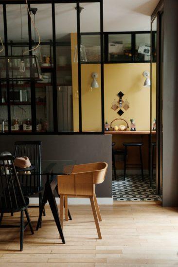 Verri re atelier pour un style industriel for Paroi vitree style atelier