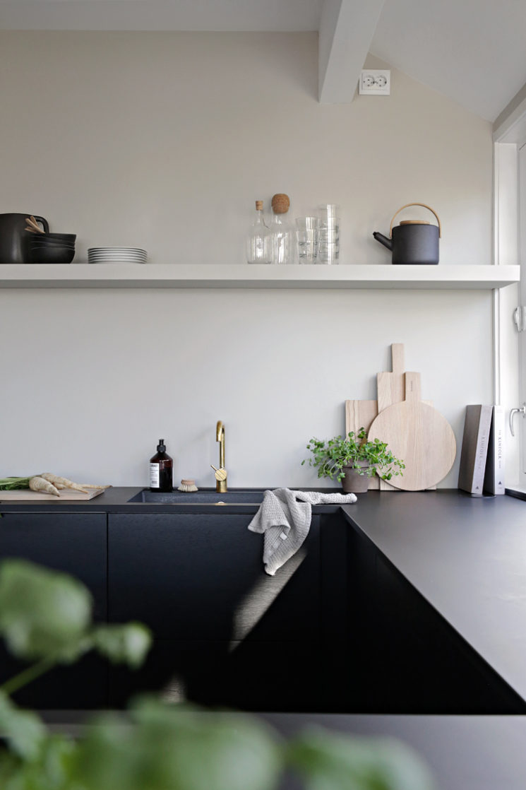 Quelques pistes pour une cuisine minimaliste = Une palette réduite